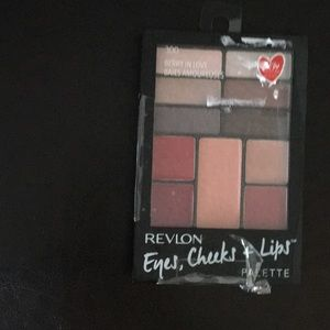 New Revlon Eyes, Cheeks & Lips Palette 6 Shadows